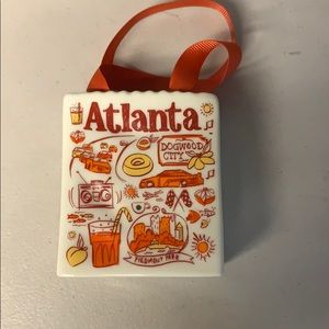 Starbucks Atlanta gift bag ornament new